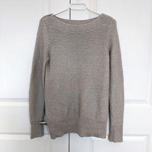 Cozy Calvin Klein knit sweater w/ zippers